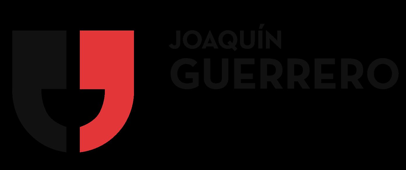Joaquín Guerrero en escena
